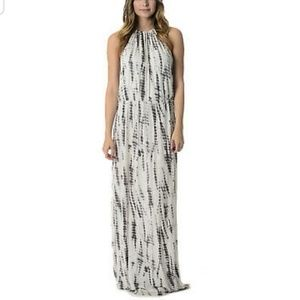 Cynthia Rowley tie dye maxi dress